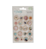 Wood Button - Shimelle