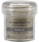 Пудра для эмбоссинга - Super fine detail - Gold
