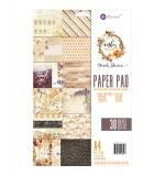 Набор двухсторонней бумаги - A4 Paper Pad - Amber Moon - Prima Marketing