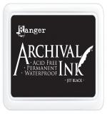 Archival ink - Jet Black Ranger БОЛЬШАЯ