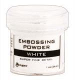 Пудра для эмбоссинга - Super fine detail -White
