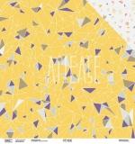 Двухсторонняя бумага «Треугольный мир»,  ARTGEO05