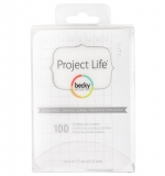 Project Life 3x4 Cards - Ledger Edition