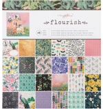 Набор бумаги 30х30 Flourish Maggie Holmes