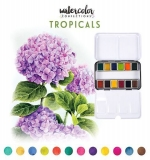 Watercolor confections - Tropicals - Prima