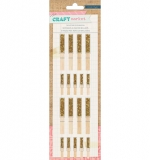 Wood Glitter Clotherspins