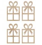 """Набор деревянных украшений """"Mini Presents"""""""