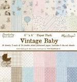 Набор бумаги 15х15 Vintage Baby 24 листа