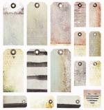 Лист с высечками (теги) 30х30 см, коллекция Dreamscapes, 7 Dots