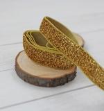 Резинка Золотой с блёстками