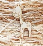 Деревянный чипборд, Жирафик