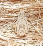 Деревянный чипборд, Пингвины