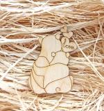 Деревянный чипборд, Влюбленные панды