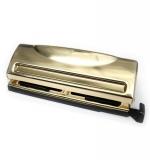 Дырокол для планеров - DCWV Gold Planner Punch