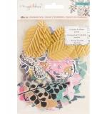 Набор высечки Maggie Holmes Flourish Ephemera Cardstock Die-Cuts 50/Pkg