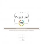 Набор файлов с кармашками 12х12, Design B, 12шт.