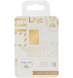 Project Life 3x4 Cards - Golden