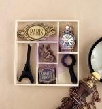 Набор деревянных украшений The Archivist