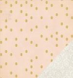 Кардсток с золотом Confetti