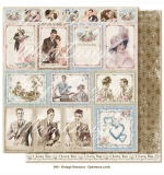 (MD) Vintage Romance - Ephemera cards