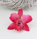 Цветок цимбидиум темно-розовый