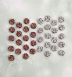 Sweet Peppermint Druzy Stones