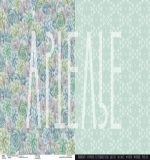 Двухсторонняя бумага «Любовные объятия земли», ARTFRC09