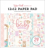 Набор 30х30 Hello Baby Girl Paper Pad - Echo Park