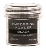 Пудра для эмбоссинга - Super fine detail - Black