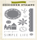 Набор штампов Simple Life