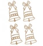 """Набор деревянных украшений """"Mini Bells"""""""