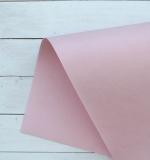 Отрез переплетного кожзама 50х35 см, светло розовый