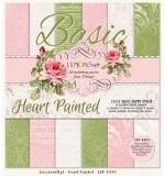 Набор бумаги 30х30 Heart Painted Basic