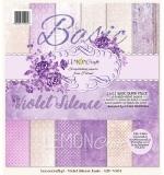 Набор бумаги 30х30 Violet Silence Basic