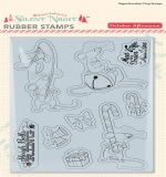 Набор штампов Silent Night - Merry Mouse