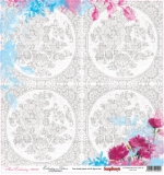 (SCB) Floral Embroidery - Embroidery Patterns