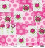 (SCB) Floral Embroidery - Cross-stitch