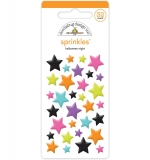 Doodlebug Sprinkles Adhesive Glossy Enamel Shapes - Night Stars