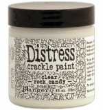 Distress Crackle paint - Ranger - Clear rock candy