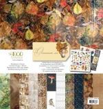 """Набор бумаги """"Осенний лес"""" (Eco Paper)"""
