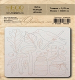 "Набор чипборда Осень ""Осенний лес"" (Eco Paper)"
