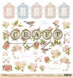 """Лепестки """"Пионовый сад"""" (Craft Paper)"""