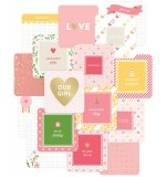 Project Life 4x4 Cards - Baby Girl