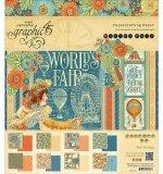 Набор бумаги 20х20 G45 World's Fair
