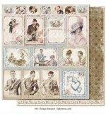 (MD) Vintage Romance - Ephemera cards