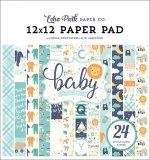 Набор 30х30 Hello Baby Boy Paper Pad - Echo Park