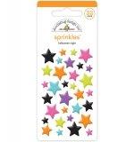 Doodlebug Sprinkles Adhesive Glossy Enamel Shapes - Night Stars