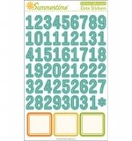 Наклейки Summertime Date Stickers (OA)
