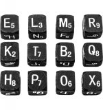 Tim Holtz - Idea ology - Alpha Dice - Black