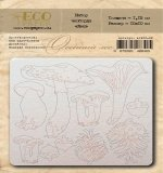 """Набор чипборда Лес """"Осенний лес"""" (Eco Paper)"""